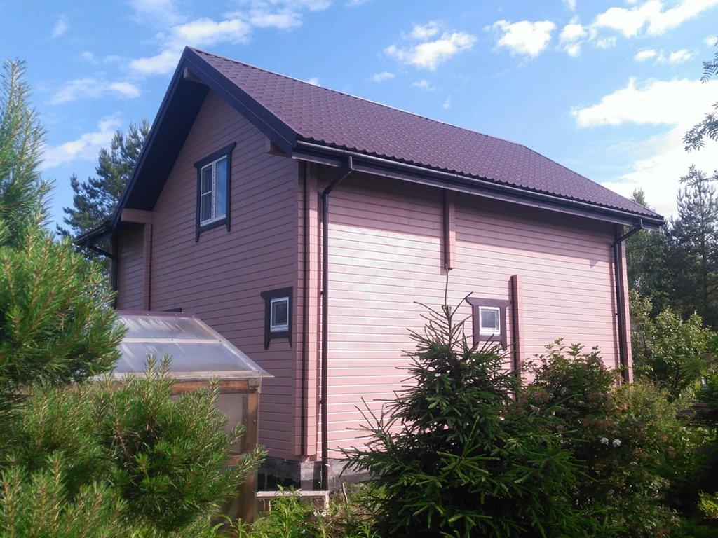66   Дом из бруса 140мм, п.Слип