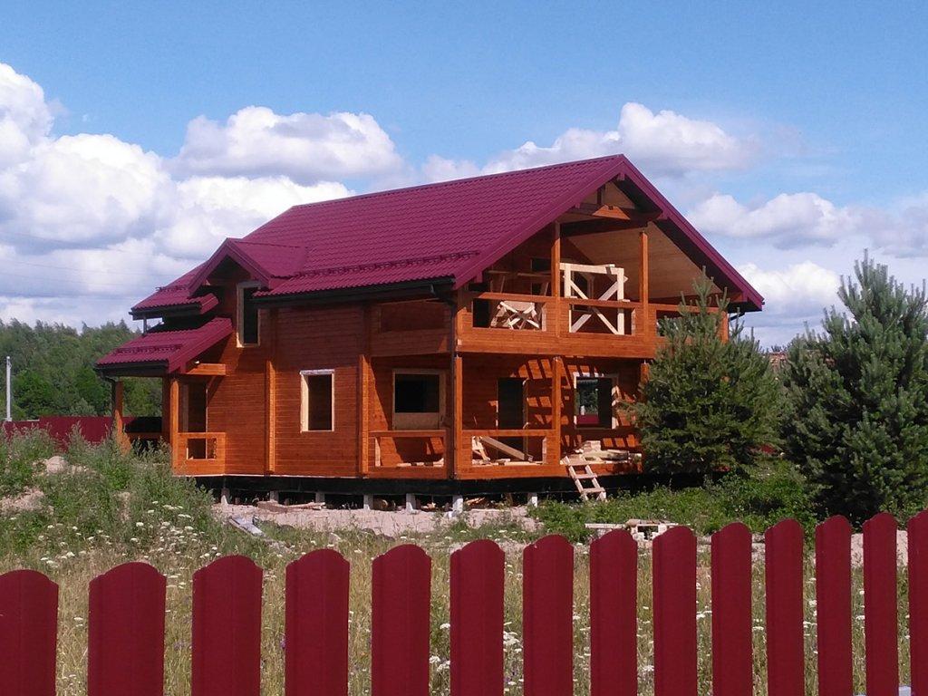 67   Дом из Дом из профилированного бруса камерной сушки