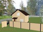 20   3d проект дома 6х8м