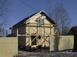 25   март 2014 - Дом 6х8м г.Рыбинск, п.Слип