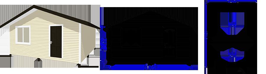 Каркасный одноэтажный дом 6х8м
